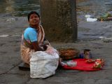 Lady selling offerings