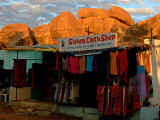 Shiva cloth shop Hampi
