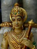 Statue in Jain temple on Malabar Hill