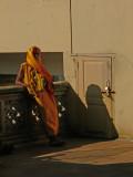Saddhu at Babulnath Mandir