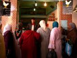 Chicken shop in souks