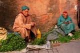Vegetable sellers in souks