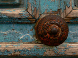 Rusty door knob