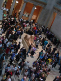 Busy day at the Met