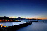 Fishing Port at Sunset