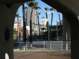 Downtown Long Beach Framed