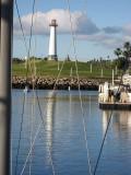 Lighthouse framed
