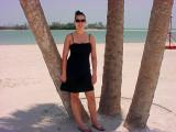 Laura on NorthBeach Ft. Desoto Island Summer '06