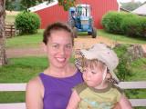 Gretchen & Owen at Great Grandma's farm