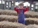 Owen at Schmidt Farms Fall '06