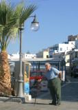 Man at Naxos Beach