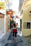 Shopping in Oia