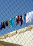 Laundry at the mountain top