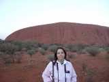 Me @ Uluru (Ayers Rock) at Dawn