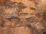 Aboriginal Cave Paintings @ Uluru (Ayers Rock)