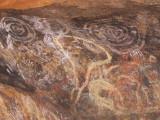 Aboriginal Cave Paintings @ Uluru (Ayers Rock)