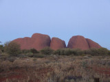 Kata Tjutu (The Olgas) @ Sunset