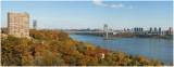 George Washington Bridge  Autumn
