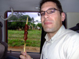 The Fruits of My Survey- Meat on a Stick