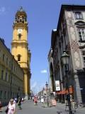 Pedestrian Shopping Area in Munich
