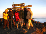 Sunrise at the Summit:  The Highest Point in Africa (19,310 feet)