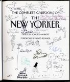 The Complete Cartoons of the New Yorker (2004) (signed by various)