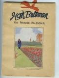 Calendar from 1938
