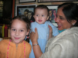 Anisha, Rahil, and Nani