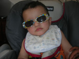 First pair of sunglasses