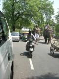 Lodhi Road traffic