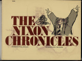 The Nixon Chronicles (1976) (inscribed with original drawing)