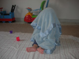Somebody's discovered 'peek-a-boo!'