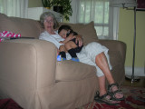 In Grandmother's lap