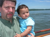 First time on a boat (Hudson River)