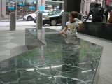 Outside the U.N. Millenium Hotel