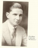 From Addams's high school yearbook