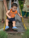 First time on a slide