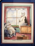 Signed, limited edition print accompanying limited edition printings of The Complete Far Side
