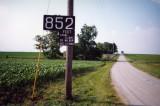 852 Feet (near Moreland, IN)