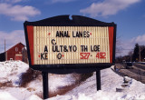 Anal Lanes (Easthampton, MA)