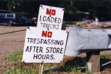 No Trespassing After Store Hours (North Millersburg, OH)
