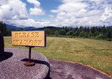 Please Stay Off (Adirondacks, NY)