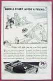 Briggs Pipe Tobacco ad from 1937