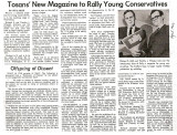 An article from an April 1966 Wauwatosa paper reporting the launch of Rally