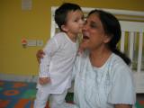 More kisses for Nani