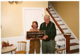 Shermane and Tim with Highmeadow sign