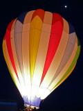 Balloon light and moon light