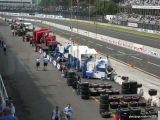 Pit area view