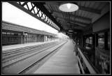 Wilmington DE Train platform