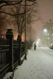 February 19: Walking home a snowy night
